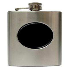 Black Gothic Hip Flask (6 Oz) by Costasonlineshop