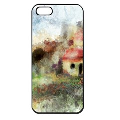 Old Spanish Village Apple Iphone 5 Seamless Case (black) by theunrulyartist