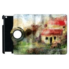 Old Spanish Village Apple Ipad 3/4 Flip 360 Case by theunrulyartist