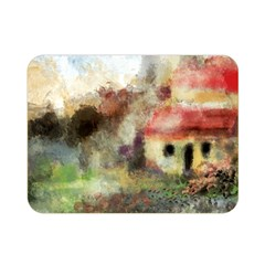 Old Spanish Village Double Sided Flano Blanket (mini)  by theunrulyartist