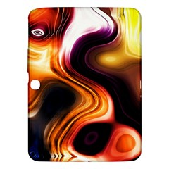 Colourful Abstract Background Design Samsung Galaxy Tab 3 (10.1 ) P5200 Hardshell Case
