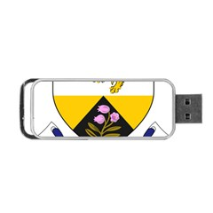 County Offaly Coat Of Arms  Portable Usb Flash (one Side) by abbeyz71