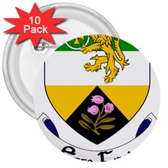 County Offaly Coat Of Arms  3  Buttons (10 Pack)  by abbeyz71