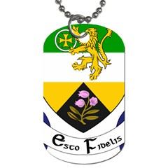 County Offaly Coat Of Arms  Dog Tag (two Sides) by abbeyz71