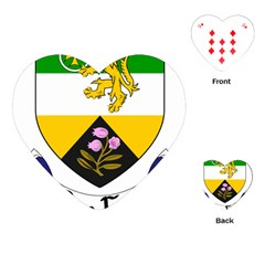 County Offaly Coat Of Arms  Playing Cards (heart)  by abbeyz71