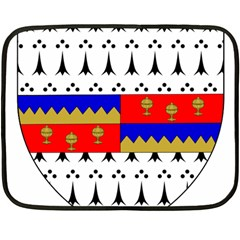County Tipperary Coat Of Arms  Fleece Blanket (mini) by abbeyz71