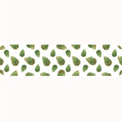Leaves Motif Nature Pattern Large Bar Mats by dflcprints