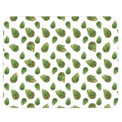 Leaves Motif Nature Pattern Double Sided Flano Blanket (medium)  by dflcprints