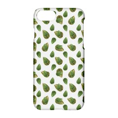 Leaves Motif Nature Pattern Apple Iphone 7 Hardshell Case by dflcprints