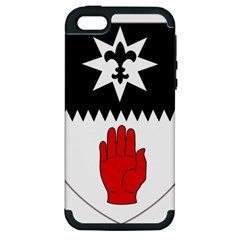 County Tyrone Coat Of Arms  Apple Iphone 5 Hardshell Case (pc+silicone) by abbeyz71