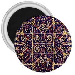 Tribal Ornate Pattern 3  Magnets by dflcprints