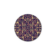 Tribal Ornate Pattern Golf Ball Marker (4 Pack) by dflcprints