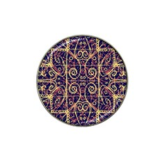 Tribal Ornate Pattern Hat Clip Ball Marker (4 Pack) by dflcprints
