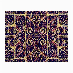Tribal Ornate Pattern Small Glasses Cloth by dflcprints