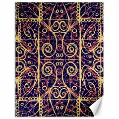 Tribal Ornate Pattern Canvas 18  X 24   by dflcprints