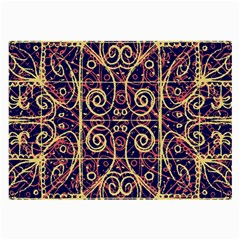 Tribal Ornate Pattern Large Glasses Cloth by dflcprints