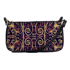 Tribal Ornate Pattern Shoulder Clutch Bags by dflcprints
