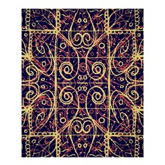 Tribal Ornate Pattern Shower Curtain 60  X 72  (medium)  by dflcprints
