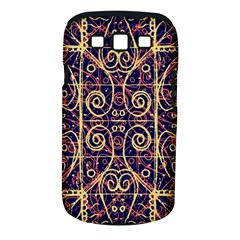 Tribal Ornate Pattern Samsung Galaxy S Iii Classic Hardshell Case (pc+silicone) by dflcprints