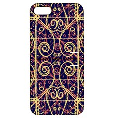 Tribal Ornate Pattern Apple Iphone 5 Hardshell Case With Stand by dflcprints