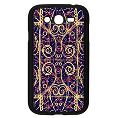 Tribal Ornate Pattern Samsung Galaxy Grand Duos I9082 Case (black) by dflcprints