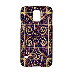 Tribal Ornate Pattern Samsung Galaxy S5 Hardshell Case  by dflcprints