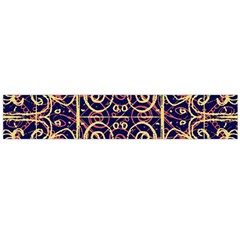 Tribal Ornate Pattern Flano Scarf (large)  by dflcprints