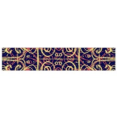 Tribal Ornate Pattern Flano Scarf (small) by dflcprintsclothing