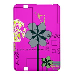 Flowers And Squares        Samsung Galaxy Premier I9260 Hardshell Case by LalyLauraFLM