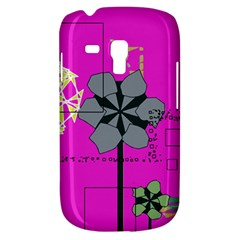 Flowers and squares        Samsung Galaxy Ace Plus S7500 Hardshell Case by LalyLauraFLM