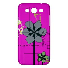 Flowers and squares        Samsung Galaxy Duos I8262 Hardshell Case by LalyLauraFLM