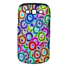 Colorful ovals        Samsung Galaxy S II i9100 Hardshell Case (PC+Silicone) by LalyLauraFLM