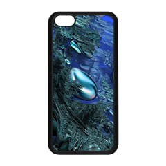 Shiny Blue Pebbles Apple Iphone 5c Seamless Case (black) by linceazul