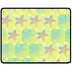 Starfish Fleece Blanket (medium)  by linceazul
