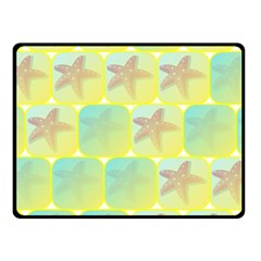 Starfish Fleece Blanket (small) by linceazul