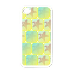 Starfish Apple Iphone 4 Case (white) by linceazul