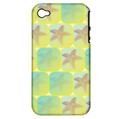 Starfish Apple Iphone 4/4s Hardshell Case (pc+silicone) by linceazul