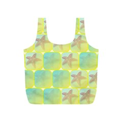 Starfish Full Print Recycle Bags (s)  by linceazul
