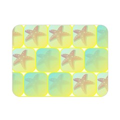 Starfish Double Sided Flano Blanket (mini)  by linceazul