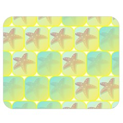 Starfish Double Sided Flano Blanket (medium)  by linceazul