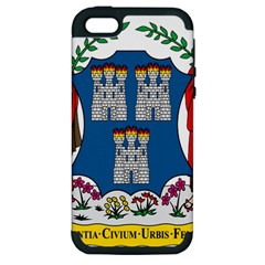 City Of Dublin Coat Of Arms  Apple Iphone 5 Hardshell Case (pc+silicone) by abbeyz71