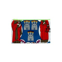 City Of Dublin Coat Of Arms  Cosmetic Bag (xs) by abbeyz71