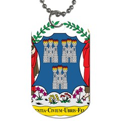 City Of Dublin Coat Of Arms Dog Tag (two Sides) by abbeyz71