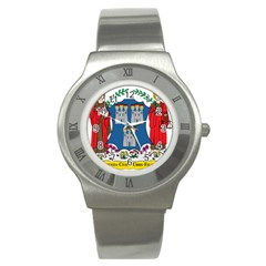 City Of Dublin Coat Of Arms Stainless Steel Watch by abbeyz71