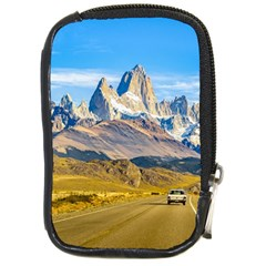 Snowy Andes Mountains, El Chalten, Argentina Compact Camera Cases by dflcprints