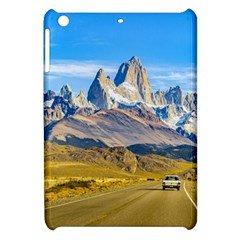 Snowy Andes Mountains, El Chalten, Argentina Apple Ipad Mini Hardshell Case by dflcprints