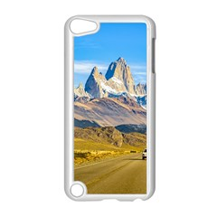 Snowy Andes Mountains, El Chalten, Argentina Apple Ipod Touch 5 Case (white) by dflcprints