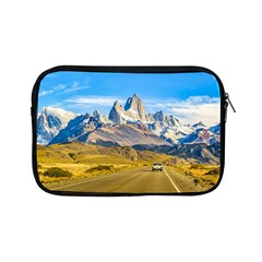 Snowy Andes Mountains, El Chalten, Argentina Apple Ipad Mini Zipper Cases by dflcprints