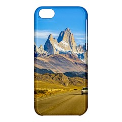 Snowy Andes Mountains, El Chalten, Argentina Apple Iphone 5c Hardshell Case by dflcprints