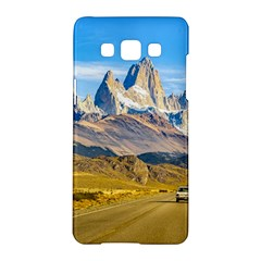 Snowy Andes Mountains, El Chalten, Argentina Samsung Galaxy A5 Hardshell Case  by dflcprints